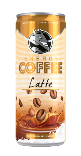 Hell  Energy Coffee Latte  (Hungary)